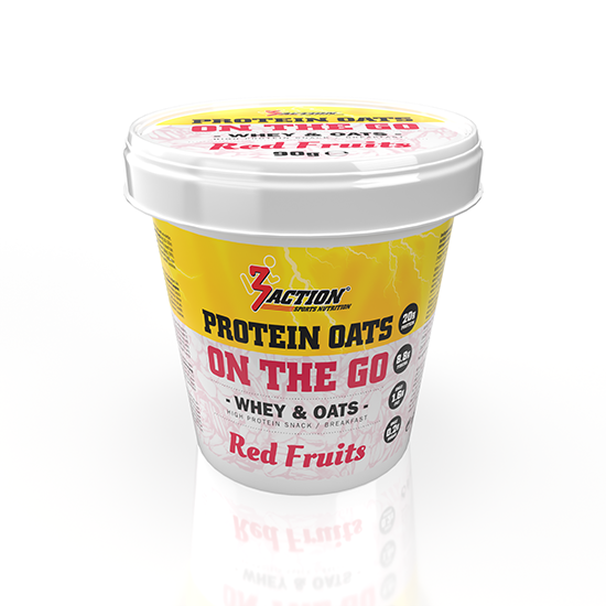 Protein Oats Red Fruit